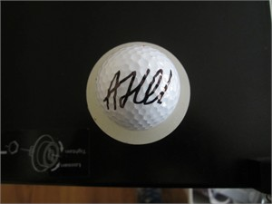 Andrew (Beef) Johnston autographed golf ball