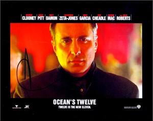 Andy Garcia autographed Ocean's Twelve 8x10 photo