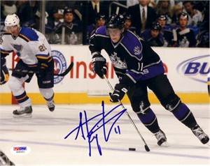 Anze Kopitar autographed Los Angeles Kings 8x10 photo (PSA/DNA)