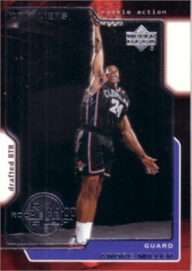 Andre Miller 1999-00 Upper Deck Rookie Card #323 MINT