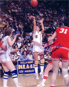 Ann Meyers autographed UCLA Bruins 8x10 photo