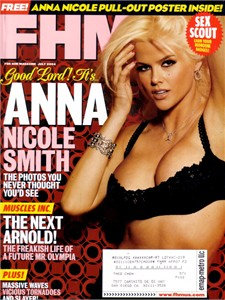 Anna Nicole Smith July 2004 FHM magazine
