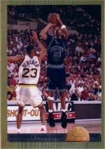 Penny Hardaway Memphis 1993 Classic jumbo chrome card