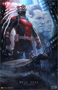Ant-Man 2014 Comic-Con exclusive promo Marvel movie poster