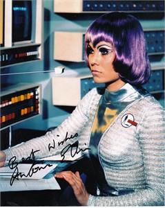 Antonia Ellis autographed UFO 8x10 photo inscribed Best Wishes