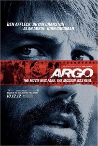 Argo 2012 mini movie poster (Ben Affleck)
