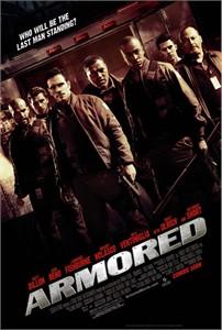 Armored mini movie poster (Matt Dillon) MINT