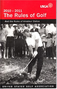 Arnold Palmer 2010-2011 USGA Rules of Golf booklet