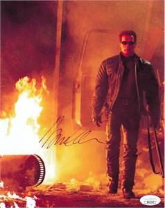 Arnold Schwarzenegger autographed Terminator 3 8x10 photo