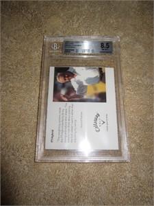 Arnold Palmer 2006 Callaway Golf promo card graded BGS 8.5 (NrMt-Mt+)