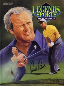 Arnold Palmer autographed 1993 Legends magazine