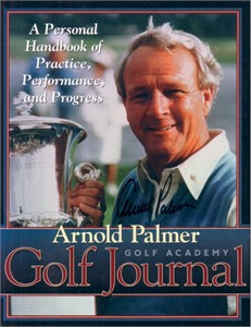 Arnold Palmer autographed Golf Journal hardcover book