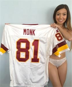 Art Monk Washington Redskins authentic 1993 Starter Pro Line game model jersey