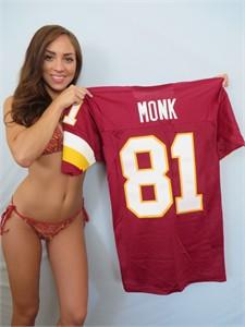 Art Monk Washington Redskins authentic Champion 1990s stitched jersey NEW