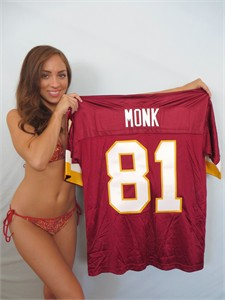 Art Monk Washington Redskins authentic Nike 1990s stitched jersey