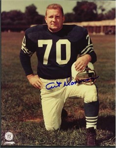 Art Donovan autographed Baltimore Colts 8x10 photo