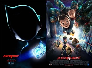 Astro Boy movie set of 2 mini promo posters