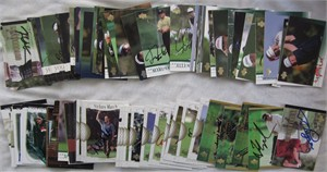 92 autographed 2001 Upper Deck PGA Tour golf cards Fred Couples John Daly Nick Faldo Ray Floyd Gary Player Nick Price Ken Venturi