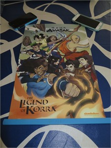 Avatar The Last Airbender and Legend of Korra 2016 Comic-Con 11x17 mini poster