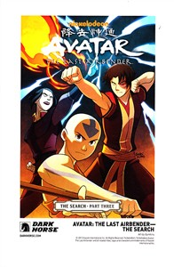 Avatar The Last Airbender The Search Dark Horse 2013 Comic-Con artwork promo card