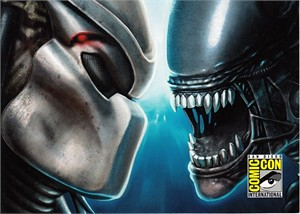 AVP Evolution 2015 Comic-Con exclusive 5x7 promo card