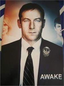 Awake 2011 Comic-Con promo poster (Jason Isaacs) MINT