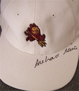 Azahara Munoz autographed Arizona State golf cap or hat