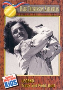 Babe Didrikson Zaharias 1990 Sports Illustrated for Kids card