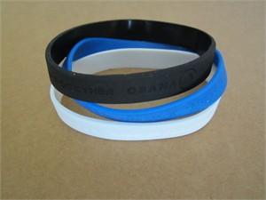 Barack Obama 2008 campaign silicone embossed wristband