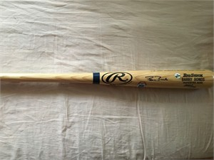 Barry Bonds autographed Rawlings Big Stick game model bat