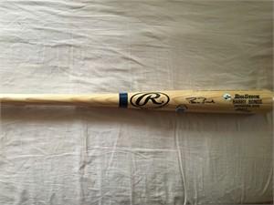 Barry Bonds autographed Rawlings Big Stick game model bat