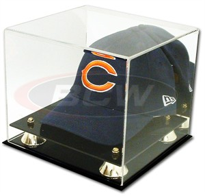 Baseball cap or hat acrylic display case