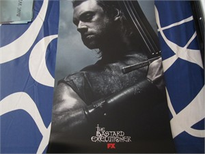 Bastard Executioner 2015 San Diego Comic-Con mini 11x17 FX promo poster