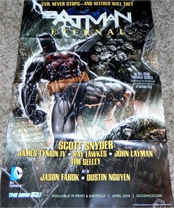 Batman Eternal 2014 DC Comics New 52 poster