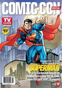 Batman & Superman 2013 Comic-Con TV Guide magazine