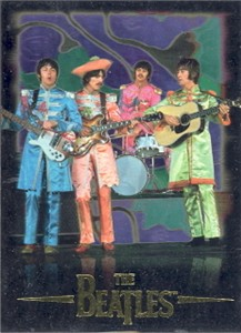 The Beatles 1996 Sports Time promo card MINT