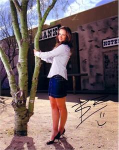 Beatriz Recari autographed sexy 8x10 photo