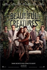 Beautiful Creatures mini movie poster (Viola Davis Jeremy Irons Emmy Rossum Emma Thompson)