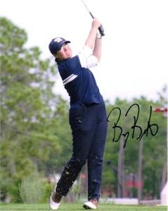 Becky Brewerton autographed 8x10 golf photo