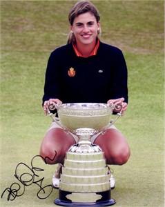 Belen Mozo autographed 2006 British Women's Amateur Championship 8x10 photo