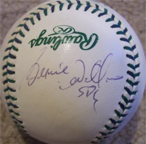 Bernie Williams autographed 2001 All-Star Game baseball