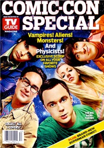 Big Bang Theory 2010 Comic-Con TV Guide magazine