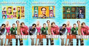 Lot of 3 Big Bang Theory Slot Game 2015 Comic-Con 4x6 promo stickers