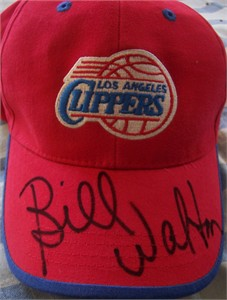 Bill Walton autographed Los Angeles Clippers cap or hat
