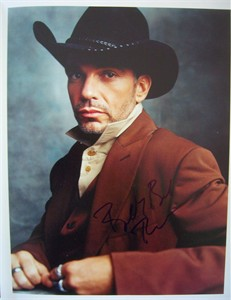 Billy Bob Thornton autographed 11x14 Rolling Stone book photo