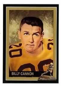 Billy Cannon LSU Tigers Heisman Trophy winner card