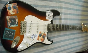 Billy Crudup autographed Almost Famous Fender Squier Bullet electric guitar