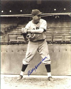 Billy Herman autographed Chicago Cubs 8x10 photo
