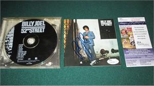 Billy Joel autographed 52nd Street CD booklet (JSA)