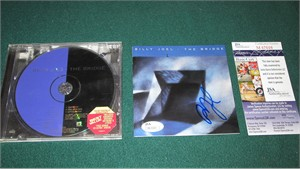 Billy Joel autographed The Bridge CD booklet (JSA)